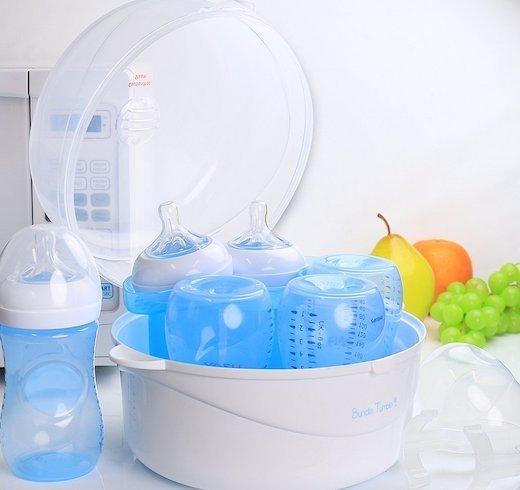 microwave bottle sterilizer instructions