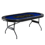 Barrington Billiards Texas Holdem Poker Table for 10 Players
