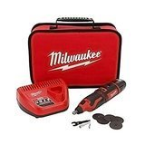 Milwaukee  Portable and Cordless M12TM Rotary Tool