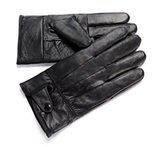 Anccion Genuine Leather Driving Gloves