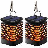 TomCare Decorative Solar Lantern, 2 Pack