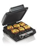 Hamilton Smokeless Indoor Grill & Electric Griddle Combo