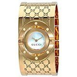 Gucci Gucci Twirl G-Tone White Dial Ladies Bangle