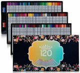 Sudee Stile 120 Unique Colors Colored Pencil Set