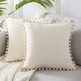 Top Finel Square Decorative Throw Pillow Covers