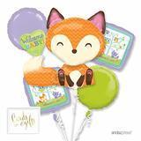 Andaz Press Baby Fox Decoration Kit