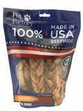 Pet Factory Beef Hide Peanut Butter Flavored Braids