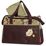 Fisher-Price Monkey Duffel Diaper Bag