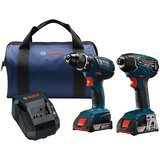 Bosch 18-Volt Cordless Drill Driver/Impact Combo Kit