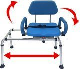 Platinum Health Sliding Transfer Bench with Swivel Seat