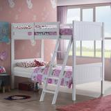 Costzon Twin-Over-Twin Bunk Beds