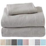 Great Bay Home Extra Soft Heather Jersey Knit Sheets