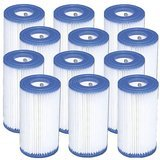 Intex Type A Replacement Filter Cartridge (12 Pack)