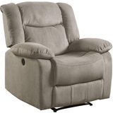 Lifestyle Cloud Fabric Power Recliner