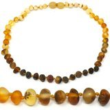 Mama Natural 12.5 Inch Amber Necklace