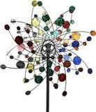 MJ Spinner Designs Confetti Style Wind Garden Spinner