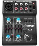Pyle 5 Channel DJ Audio Mixer