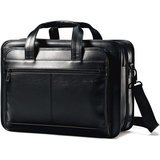 Samsonite Expandable Leather Briefcase
