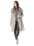 Vince Camuto Wool Coat With Faux Fur