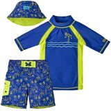 UV SKINZ Boys' Three-Piece Swimsuit Set