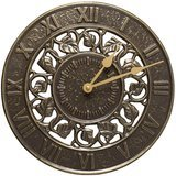 Whitehall Products 12-Inch Ivy Silhouette Clock