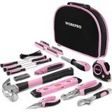 WorkPro Pink Lady Tool Set with Pouch, 103-Piece